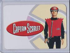 Captain Scarlet Trading Card Basic Test Proof Set