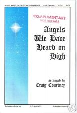 Angels We Have Heard On High Courtney Sheet Music 2001