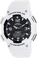 Casio AQS810WC-7A Mens Tough Solar Digital Sports Watch 5 Alarms Glossy White