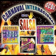 CARNAVAL INTERNACIONAL DE LA SALSA - V/A - 3 CD - BOX SET IMPORT