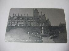 Lot09r - PARK HOTEL & MILLER PARK - PRESTON Alumino Postcard