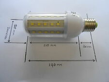 Led Globe Bulb Lamp E27 240V 4W Fits Replaces Screw In GLS ES Or Bedside Lamps