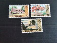 KIRIBATI 1983 SG 02-030-035 OFFICIAL STAMPS  MNH