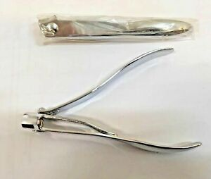 Kleeneze Large Nail Clippers, Ergonomic Side Cutter, Stainless Steel, BRAND NEW