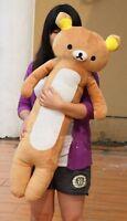 90cm Giant big San-x Rilakkuma Relax Bear plush soft Cute Big Toys doll Pillow