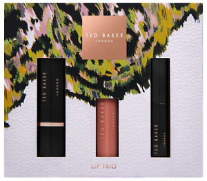 Ted Baker Lip Trio PEFECT XMAS CHRISTMAS GIFT 100% AUTHENTIC