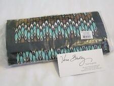 Vera Bradley SIERRA STREAM Tri-Fold Gallery Wallet Clutch for Purse Tote bag NWT