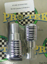 Pro Tek Motorcycle Bar Weight Ends BE-56 CHROME Yamaha YZF R6 R6S 600 PAIR NEW