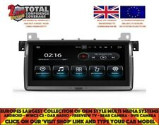 "8.8|"" DVD GPS NAVI ANDROID 9.0 4GB 8CORE DAB BT BMW 3/M3 SERIES E46 HL-1046A"