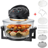 Electric Air Fryer Halogen Oven Healthy Cook 1400W Super Sized 17L Fat &Oil Free