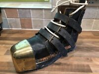 Vintage Original Copper Brass Diving Divers Boot Maritime Marine Nautical