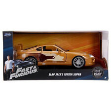 Jada Fast and Furious Toyota Supra Slap Jack's  Diecast Car Gold 1:24 99540