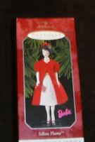 Keepsake Ornament Barbie Silken Flame 1998 Vintage Christmas
