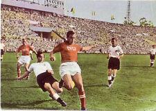 Fußball SAMMELBILD HEINERLE LS MOSKAU 1955 UdSSR - DEUTSCHLAND  E. JUSKOWIAK F95