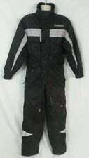 Yamaha One Piece Jacket Pants Ski 3M Reflective Winter Snow Mobile Suit S Small
