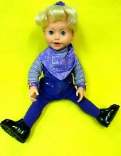 """Playmates 1999 Amazing Ally 18"""" Interactive doll-Dressed-All Original w/Shoes"""