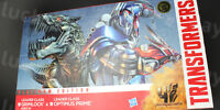 TRANSFORMERS AOE Platinum Edition Grimlock & Optimus Prime Leader Class Figure