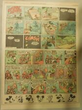 Mickey Mouse & Jose Carioca by Walt Disney from 10/3/1943 Tabloid Page Size