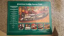 1994 GreatLand Holiday Express-G Gauge New Bright Train Starter Set! (WORKS)