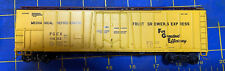 """HO Scale """"Pacific Fruit Express"""" 50 Foot 11432 FGCX Freight Train Box Car"""