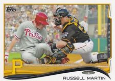 PITTSBURGH PIRATES RUSSELL MARTIN 2014 TOPPS #360