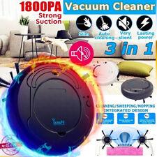 3-in1 Rechargeable intelligent sweeping robot smart floor vacuum cleaner Sweeper