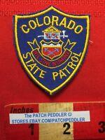 Small Size POLICE LAW ENFORCEMENT PATCH ~ COLORADO STATE PATROL 5DA6