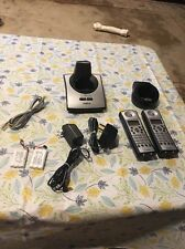 BARELY USED Uniden Tru5860-2HS 2 Wireless Handset Phone Set With Batteries 5.8GH