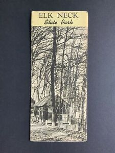 Elk Neck State Park Vintage Brochure