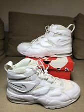 Nike Air Max 2 Uptempo '94 Men's Basketball Shoes Triple White 922934-100 Sz 13