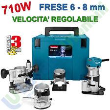 Makita RT0700CX3J 710W Rifilatore Multifunzione