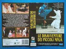 Solo Copertina Fascetta LE DISAVVENTURE DEI PICCOLI NINJA no vhs dvd cd lp