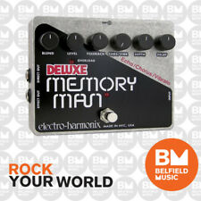 Electro-Harmonix DELUXE MEMORY MAN  Effect Pedal Bypass