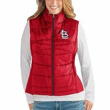 G-III 4her St. Louis Cardinals Women's Wing Back Jacket Vest - Red