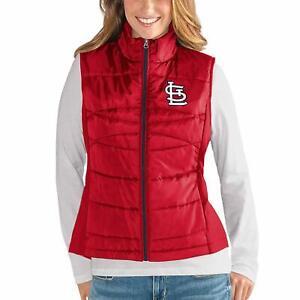 G-III 4her St. Louis Cardinals Women's Wing Back Jacket Vest - Red