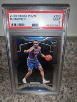 2019-2020 Panini Prizm RJ Barrett Base PSA 9 Mint Rc NY Knicks Rookie #250 RC 📈