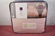 Lush Décor- Reyna Comforter Set, Twin XL, Blush