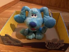 "2020 Blues Clues Plush Blue Dog 6"" - 7"" Just Play"