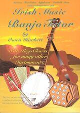 Irish Music Banjo Tutor by Owen Hackett