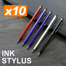 10X Capacitive Touch Screen Stylus Ball Pen for Apple iPhone iPad iPod Samsung