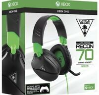 Turtle Beach Recon 70X Black Headset for PS4 Xbox One PC and Switch Brand New