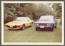 Vintage Car Photo 1973 Fiat 1928 SL & X 1/9 Automobiles 754787