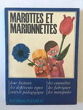 MAROTTES ET MARIONNETTES 1966 100 IDEES FLEURUS ILLUSTRE DELPEUX