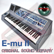 EMULATOR II - unique HUGE WAVE Multi-Layer Studio Samples Library 3.37GB on DVD