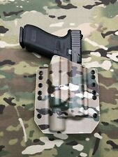 Multicam Kydex Holster for Glock 17 22 Thread Barrel Surefire X300 Ultra A Model