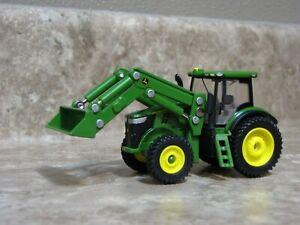 Ertl 1/64 John Deere 7230R Loader Tractor Farm Toy