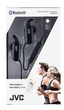 JVC HA-EBT5-B Bluetooth Wireless Sport Sweat Proof IPX4 Headphones