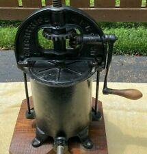 Antique Cast Iron Enterprise Fruit Cider Lard Press Sausage Stuffer