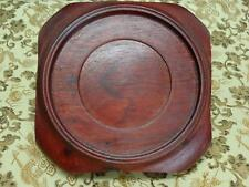 Solid Rosewood  Base  1980'