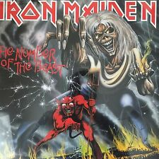 IRON MAIDEN 'The Number Of The Beast' Vinyl LP 2014 REISSUE -  BRAND NEW